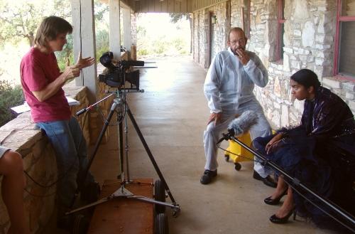 Rodger directs John Daws and Paloma Bermudez