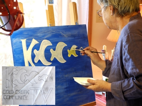 Dianne painting 2 the KCCC sign 800x600x120dpi