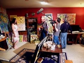 Scene 5 - Lynette prepares to materialize - Deanna Lalich, John Daws,  Rodger Maron & Jason Marion