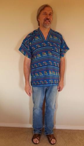 Joe Costume 1