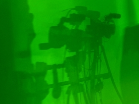 Camera Shadows on the Green Screen - Andrea's Art Shot
