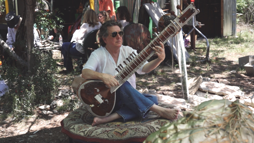After - Sitar without microphone