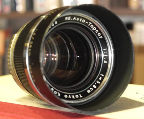 Topcor f1.4 lens 1