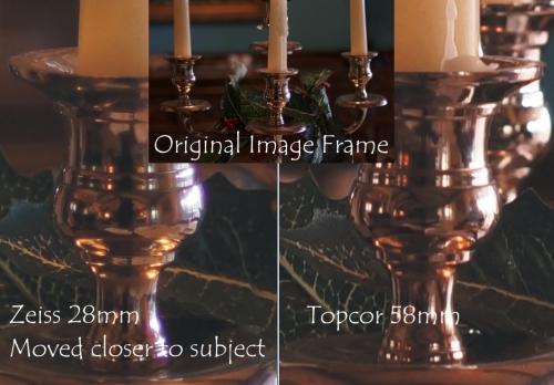Topcor Lens Test